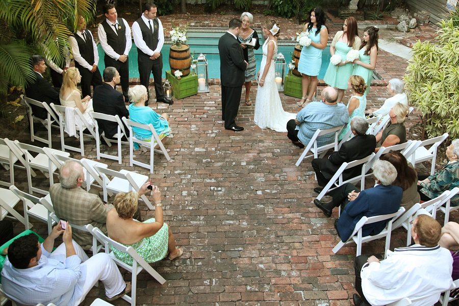 Vacation Home Wedding Key West