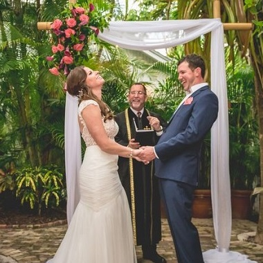 Key West Wedding Venues -Bride and Groom