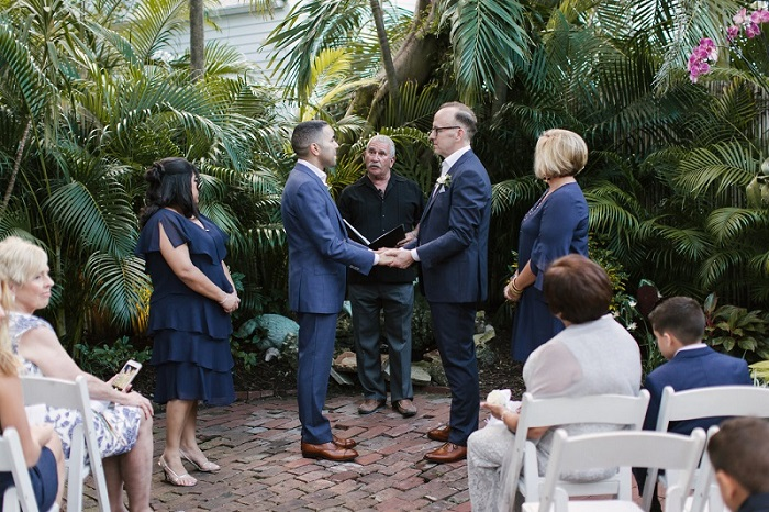 Paito Wedding Party - Key West Wedding Receptions
