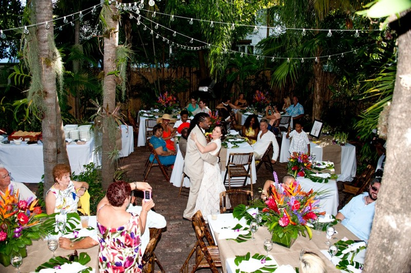 Key West Wedding Reception