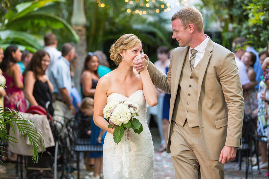 Key West outdoor wedding