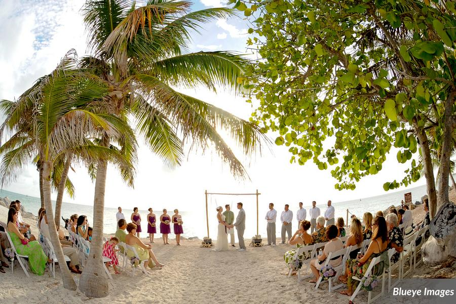 Key West Wedding Venues Fort Zachary Taylor