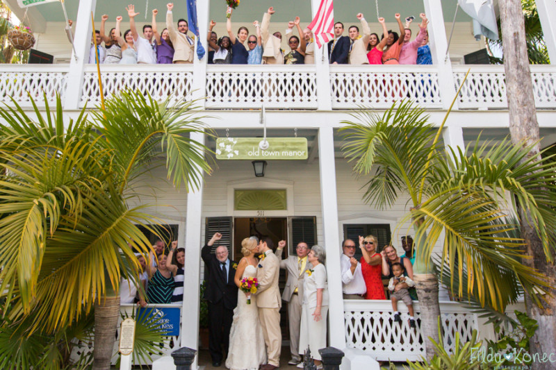 Key West beach wedding theme